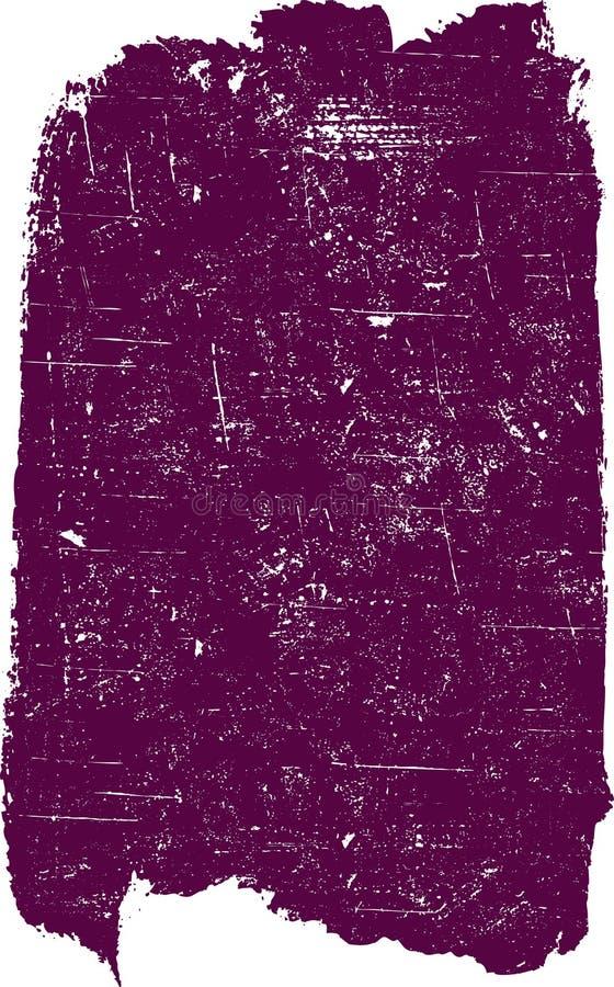 Großes Grunge Quadrat 5 vektor abbildung
