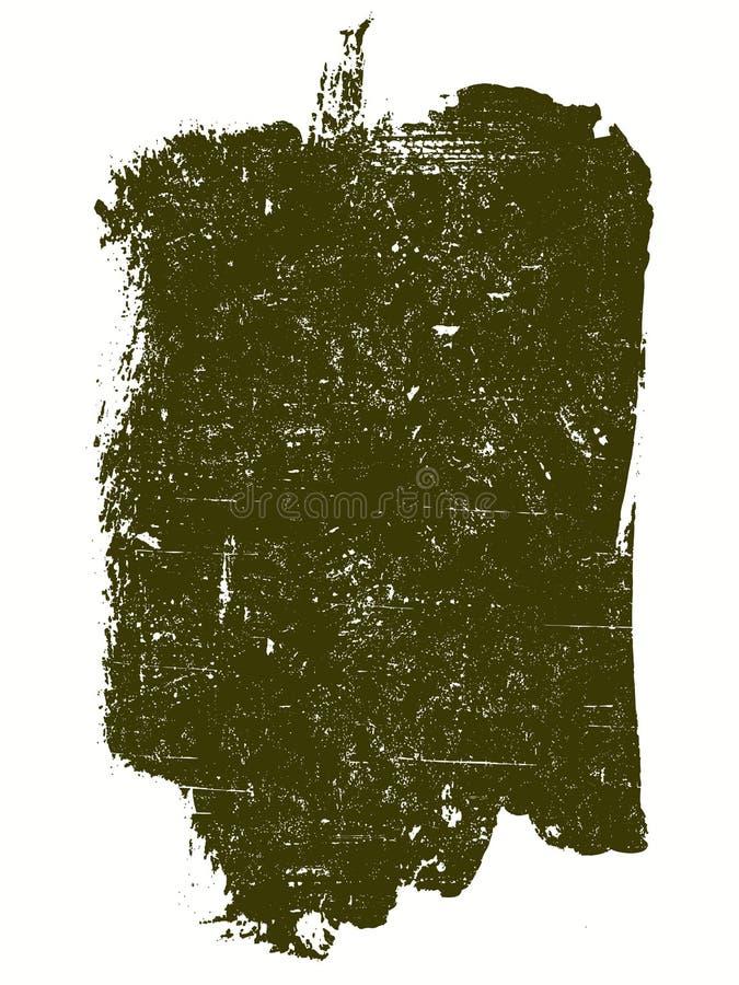 Großes Grunge Quadrat 9 vektor abbildung