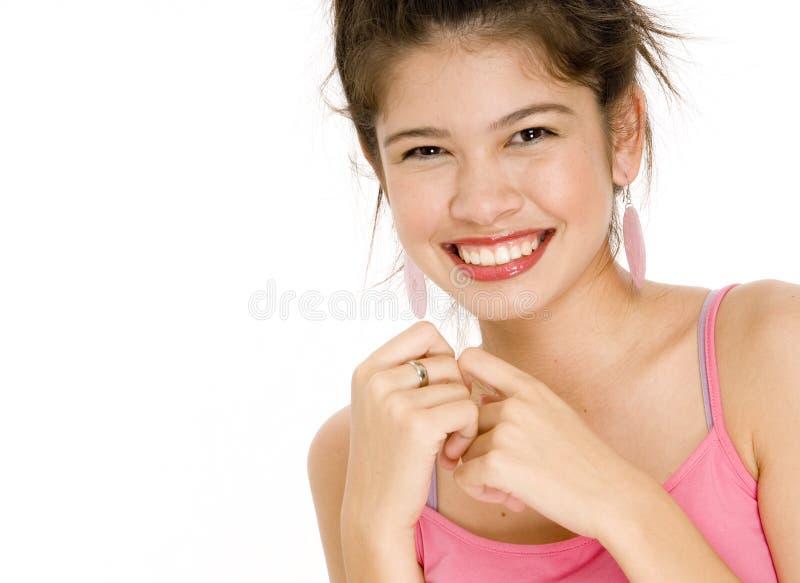 Großes Lächeln stockfoto