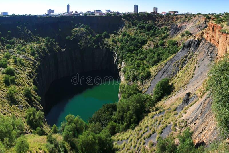 Großes Loch, Kimberley stockbild