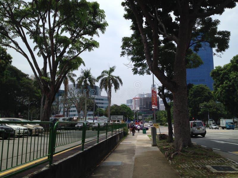Großes markit Singapur lovernder lizenzfreies stockbild