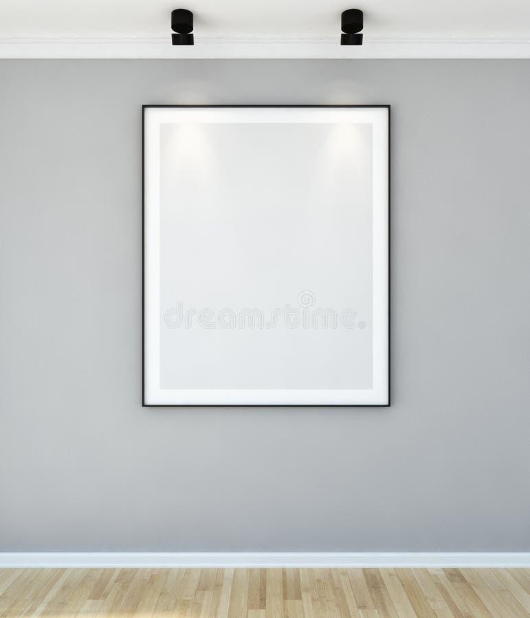 Großes modernes helles Innenraumwohnung Wohnzimmer Luxusillus lizenzfreie stockbilder