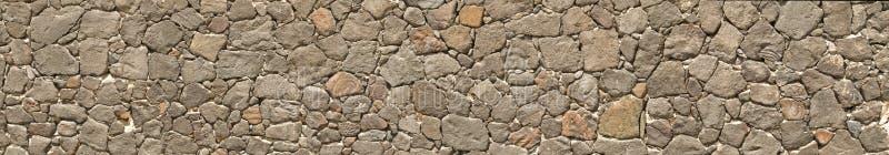 Großes Panorama einer Steinwand lizenzfreies stockbild