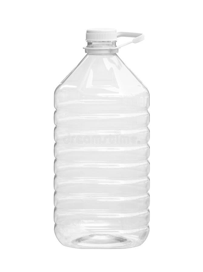 Großes Plastikflaschenflüssigkeitsverpacken stockfotografie