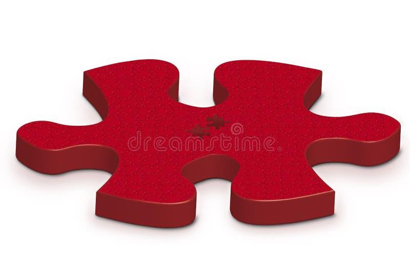 Großes Puzzlespiel vektor abbildung
