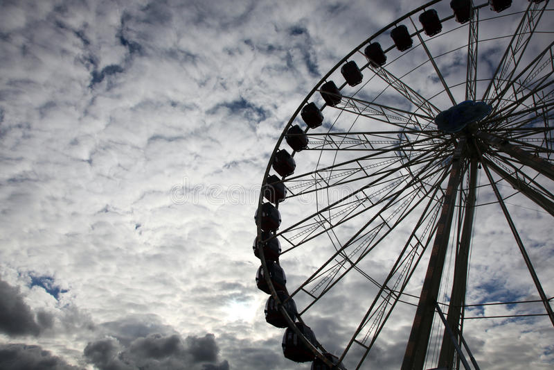 Großes Riesenrad stockfotografie