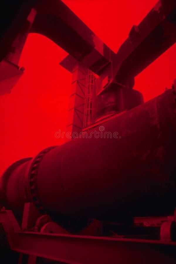 Download Großes Rot stockbild. Bild von rost, vertikal, maschinen - 40547