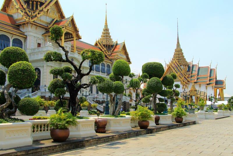 Großes Royal Palace in Bangkok, Thailand, Südostasien lizenzfreies stockbild