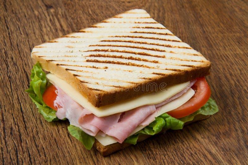 Großes Sandwich lizenzfreie stockfotos