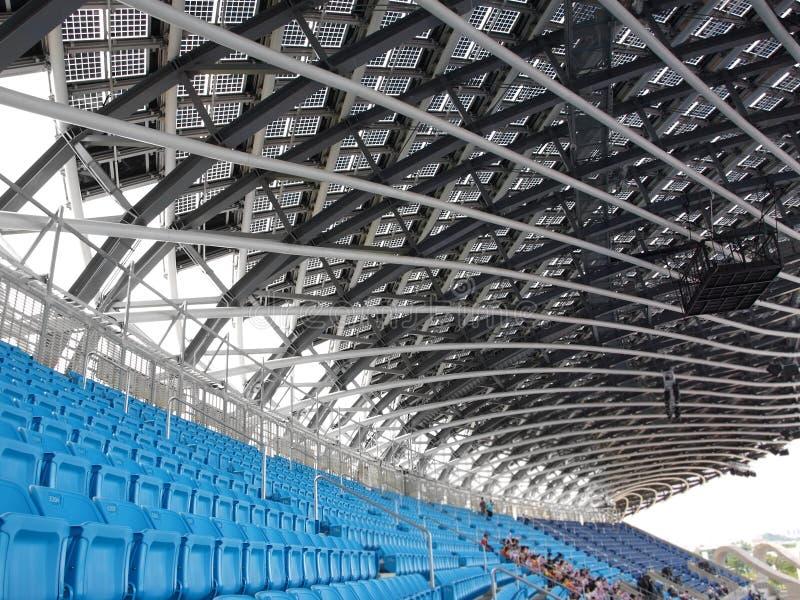 Großes Stadion lizenzfreies stockbild