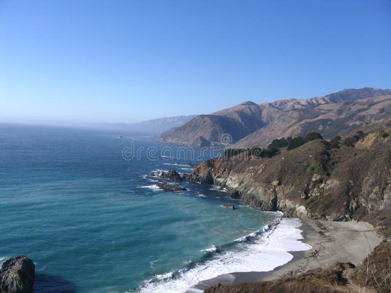 Großes Sur - Kalifornien lizenzfreies stockbild