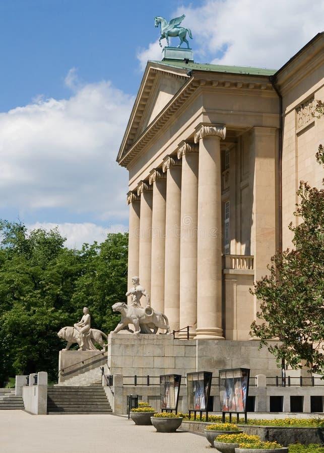 Großes Theater, Poznan lizenzfreies stockbild