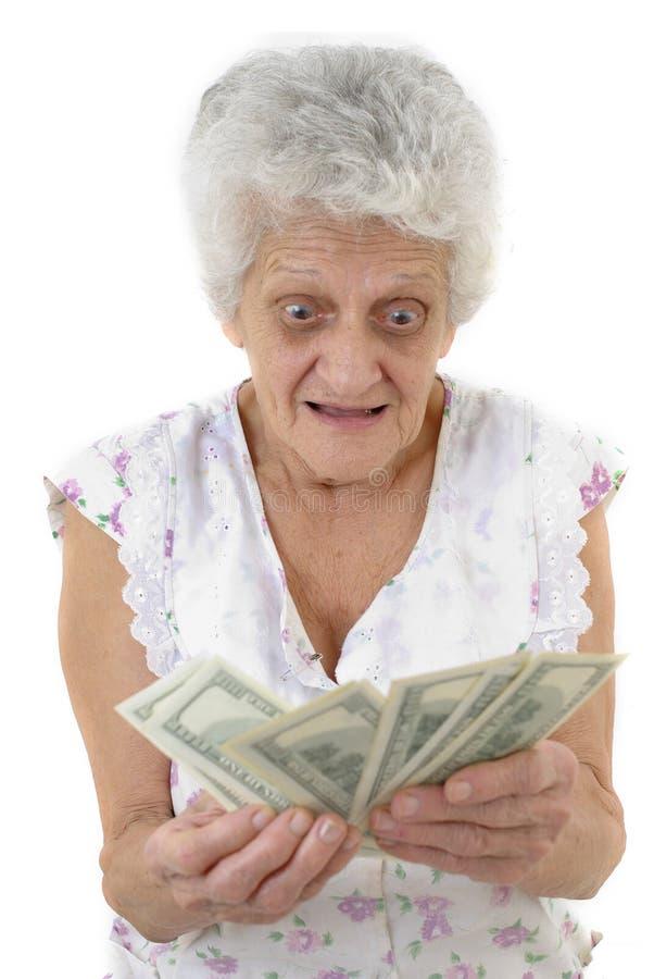Großmutter lizenzfreie stockfotografie