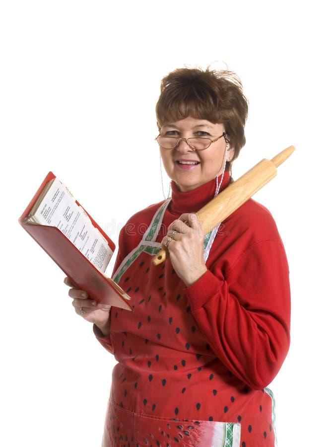 Großmutter der Koch lizenzfreies stockfoto