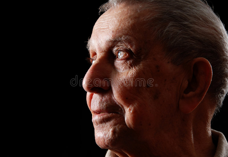 Großvater lizenzfreies stockfoto