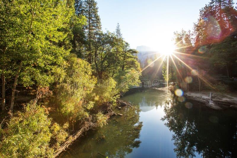 Gro?artige Ansichten von Yosemite Nationalpark im Herbst, Kalifornien, USA stockfoto