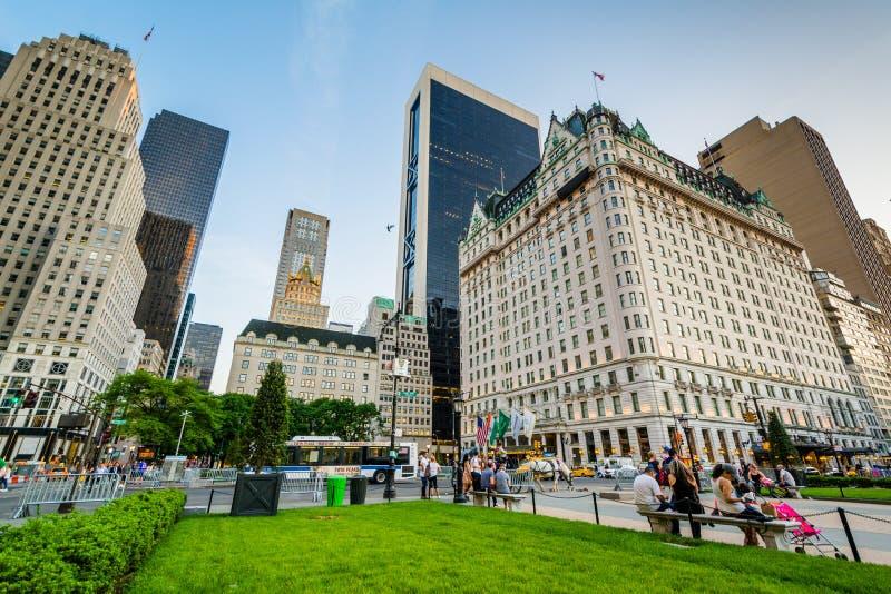 Gro?artige Armee-Piazza, in Midtown Manhattan, New York City lizenzfreie stockfotografie