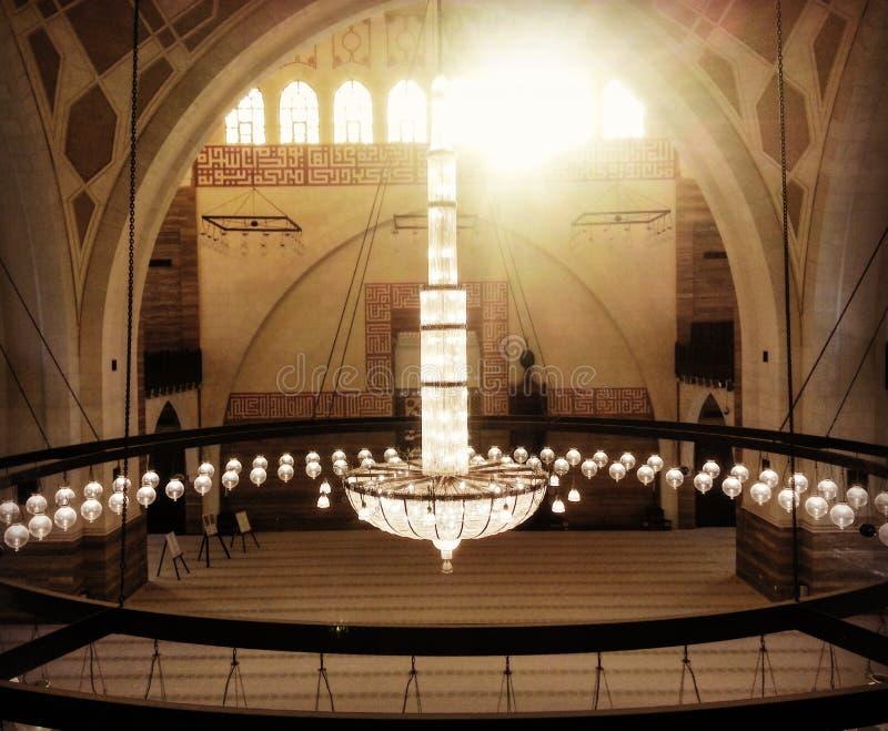 Gro?artige Moschee stockbild