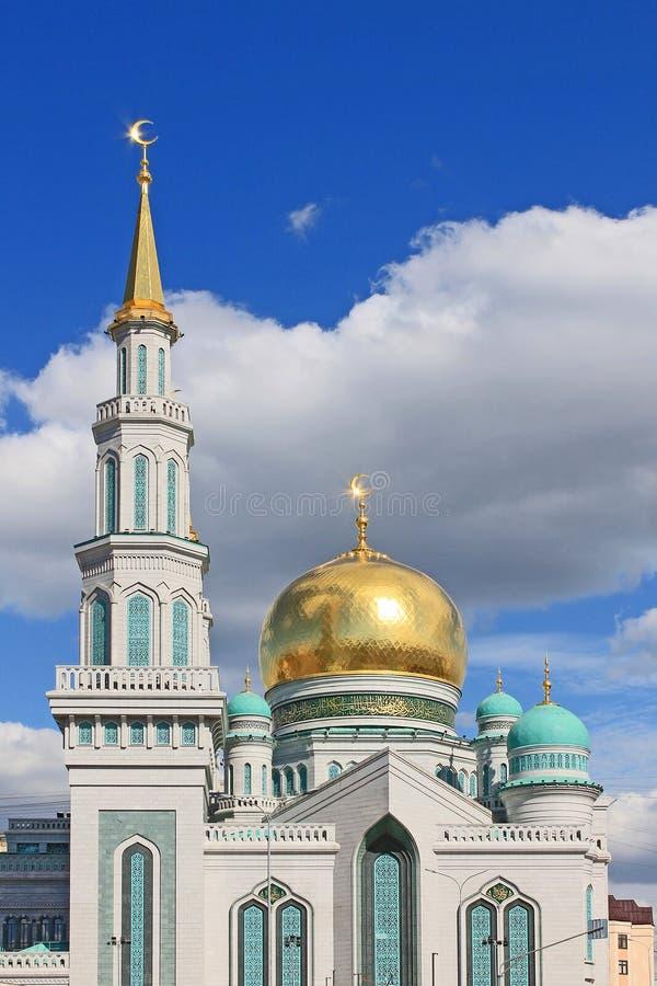 Gro?e Kathedralenmoschee in Moskau, Russland stockbild