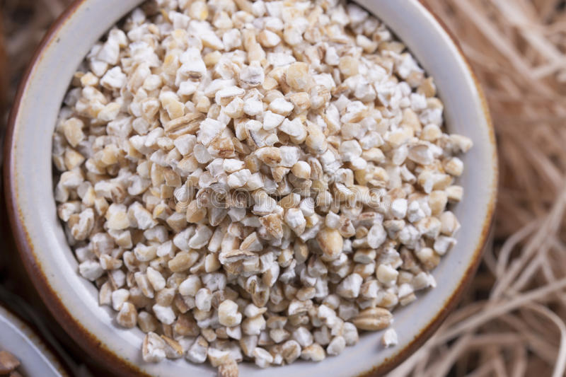 Download Groats stock photo. Image of tableware, shavings, clay - 33603222