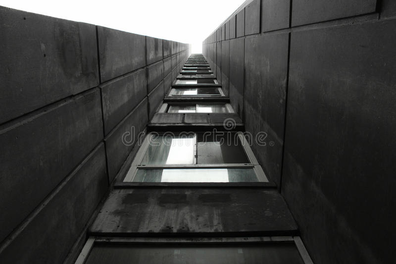 Grobe Architektur lizenzfreie stockfotografie