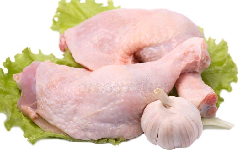 Grobe Hühnerbeine stockfotos