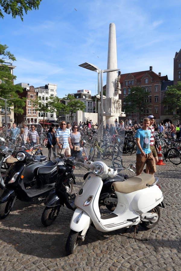 Grobelni Kwadratowi bicykle fotografia royalty free