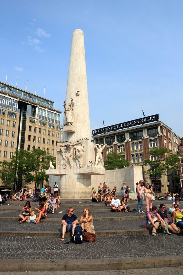 Grobelny Amsterdam fotografia stock