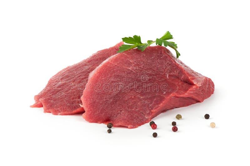 Grobes Fleisch stockbilder