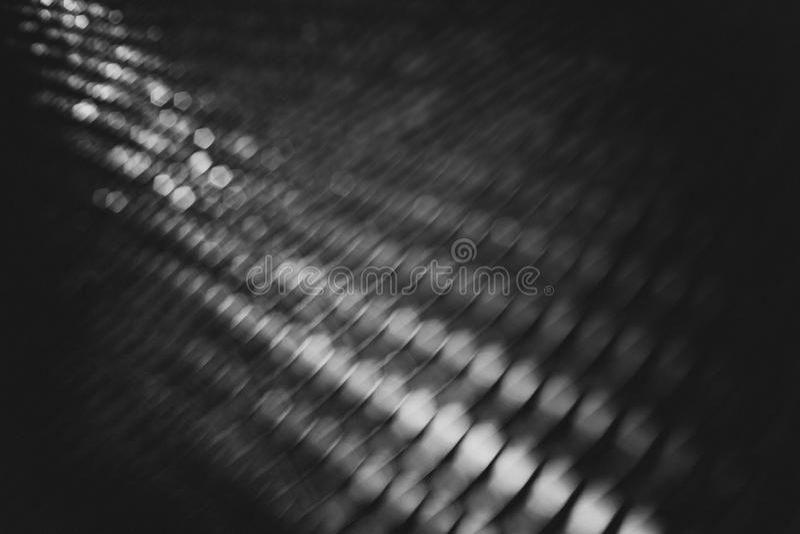 Grobes Schwarzweiss-bokeh lizenzfreie stockfotos