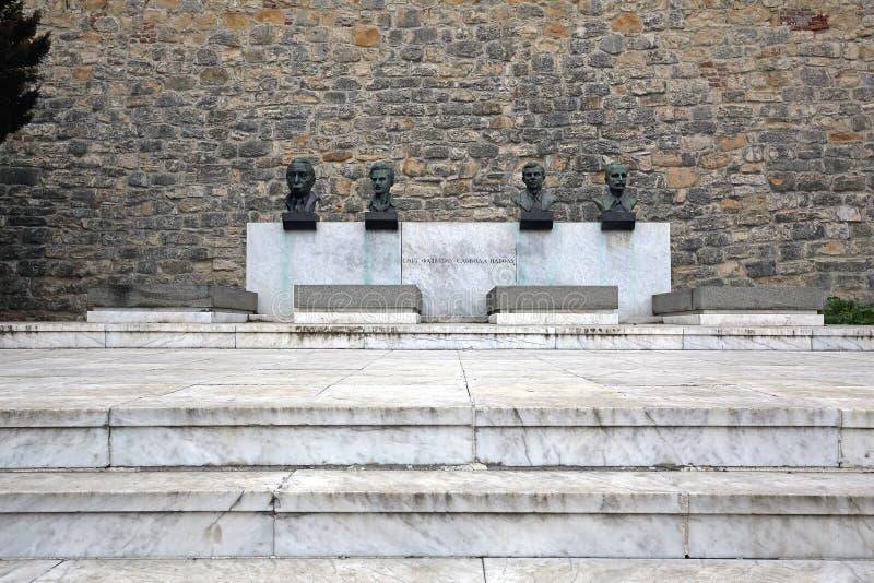Grobowiec ludzie bohaterów Belgrade zdjęcie stock