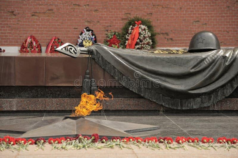 grobowiec nieznanego żołnierza zdjęcia stock