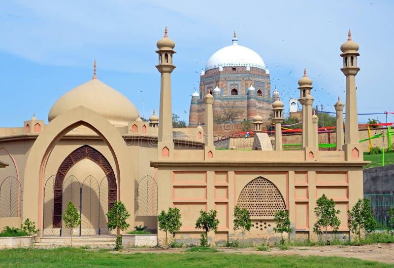 Grobowiec Shah Rukn-e-Alam zdjęcia royalty free