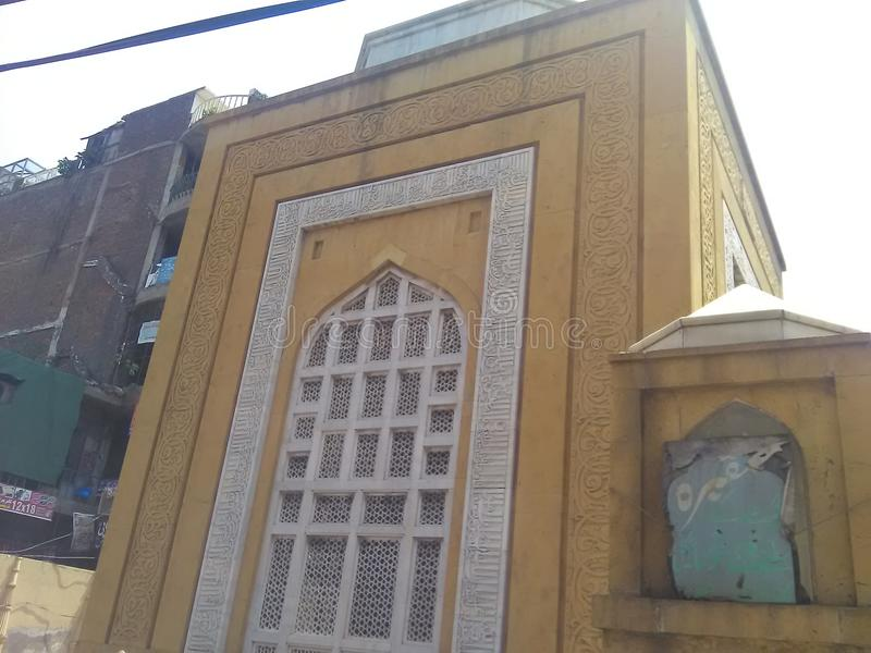 Grobowiec sułtanu Qutb udo łomot Aibak fotografia stock