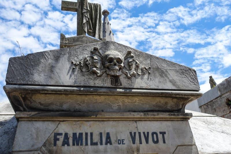 Grobowiec w Buenos Aires zdjęcia stock
