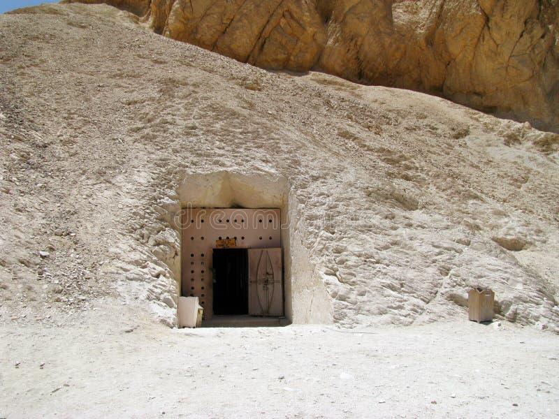 Grobowiec w dolinie królewiątka zdjęcie stock