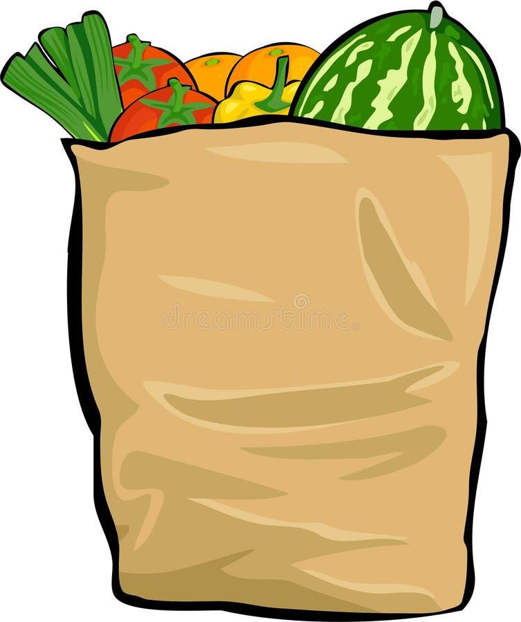Download Groceries stock illustration. Illustration of melon, edibles - 167994