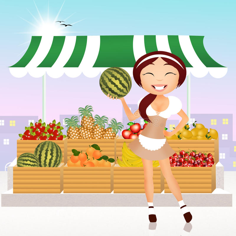 grocery libre illustration