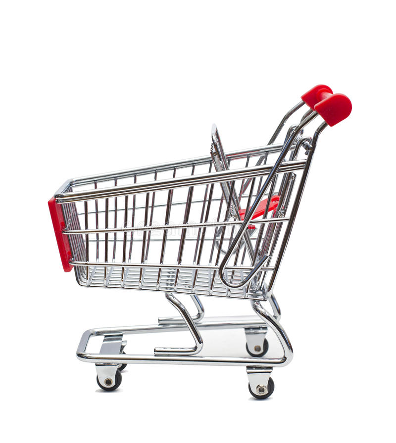 Grocery basket royalty free stock photo