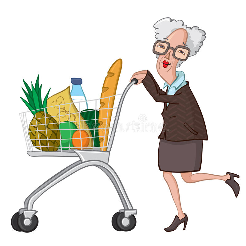 wikihow how to use personal grocery cart