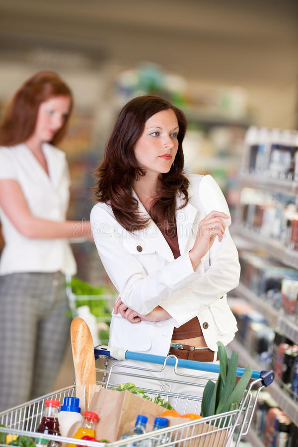 Download Grocery Shopping Store - Attractive Woman Stock Photo - Image: 9470322