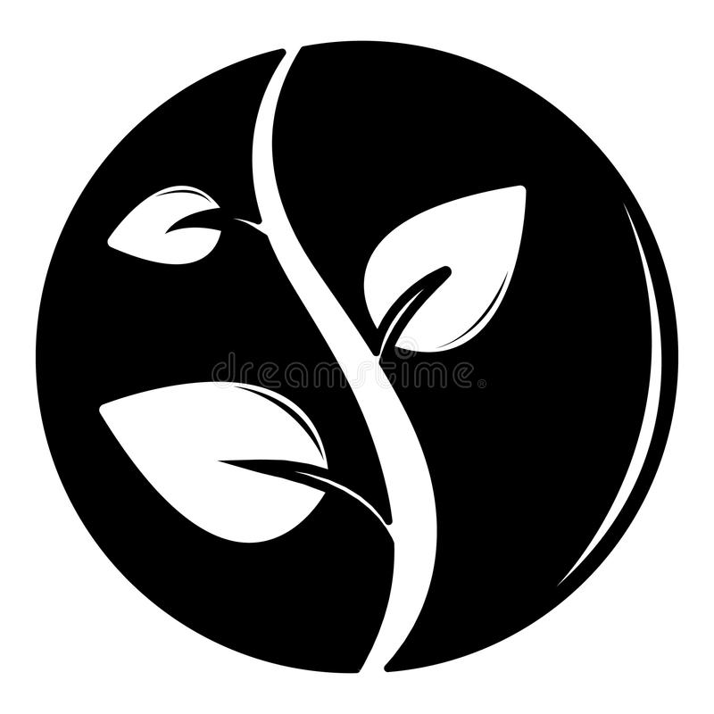 Groddsymbol, enkel svart stil vektor illustrationer