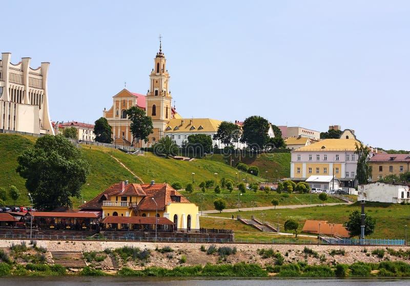 Grodno, Belarus. City landscape stock images