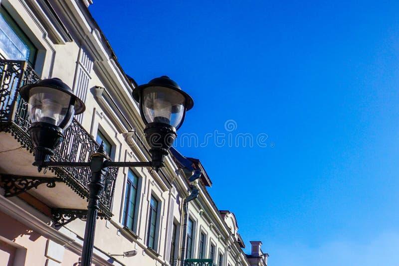Grodno sovjetisk gata royaltyfri foto