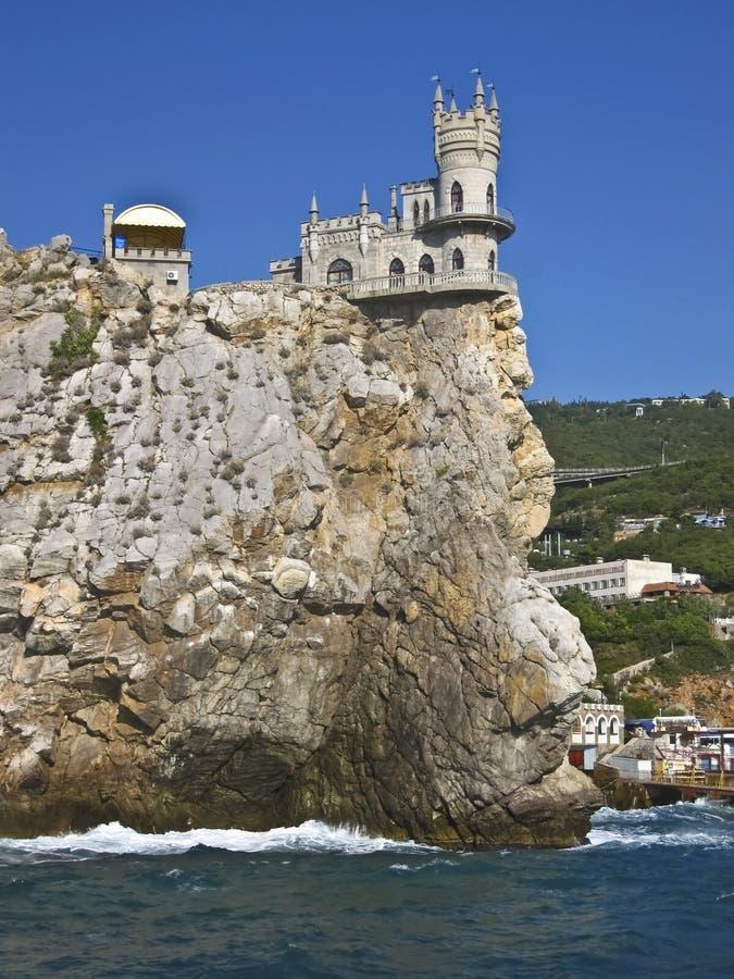 grodowa Crimea gniazdeczka dymówka obraz stock