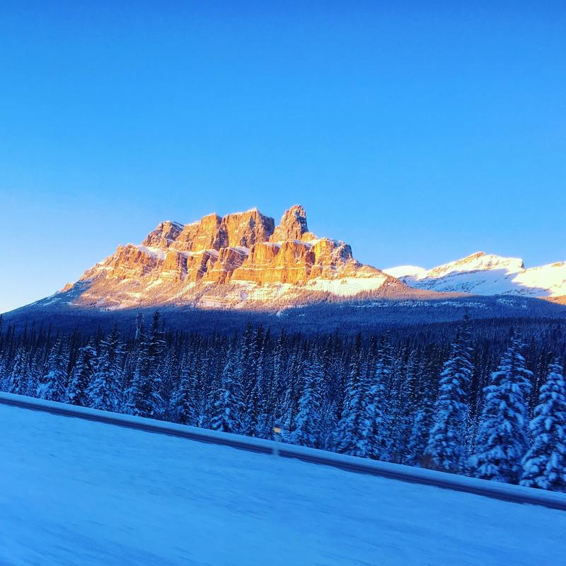 Grodowa góra obrazy royalty free