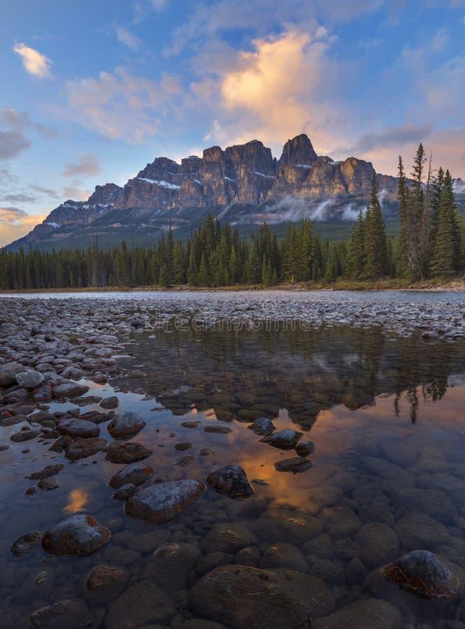 Grodowa góra, Alberta, Kanada zdjęcia royalty free