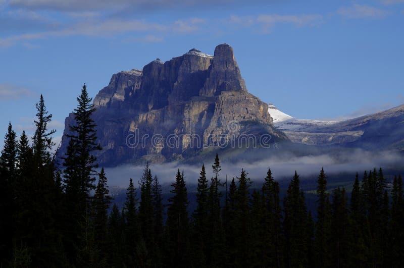 Grodowa góra, Banff park narodowy, Alberta, Kanada fotografia royalty free