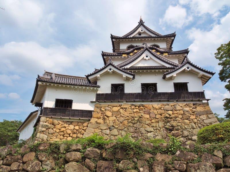 grodowa Hikone prefektura Shiga Japan zdjęcia stock