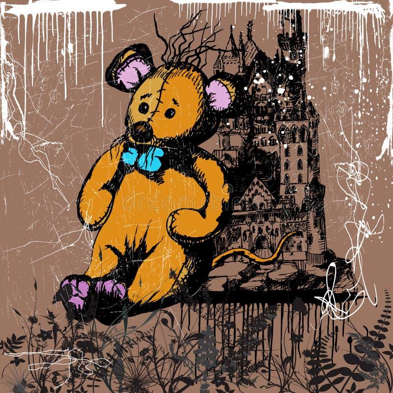 grodowa mysz royalty ilustracja